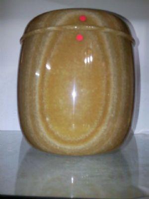 骨灰罐(高級佛光紅玉)