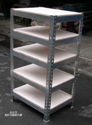 鍍鋅免螺絲角鋼架